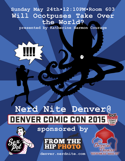 octopus nerd nite denver comic con