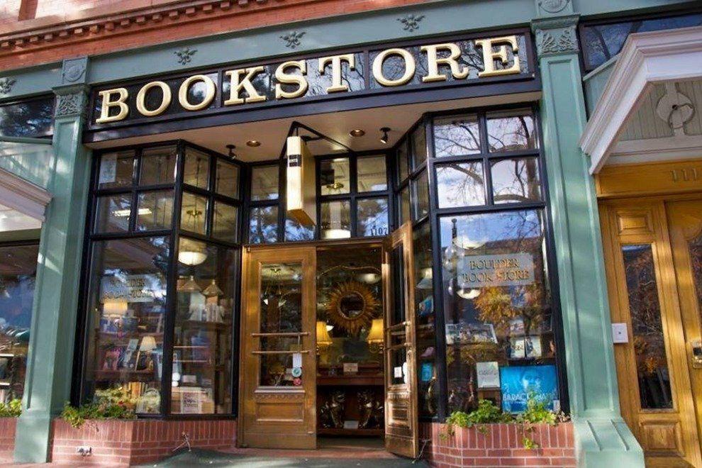 Boulder Book Store facade